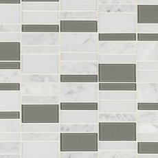 Carrara Tower Glass Mosaic