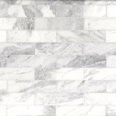 Valentino White Honed Marble Tile 4 X 8 931100471