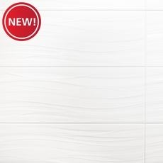 New! Breeze Blanco II Polished Ceramic Wall Tile