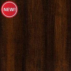 New! EcoForest Rustic Brown Hand Scraped Locking Stranded Engineered Bamboo