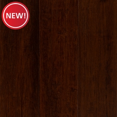 New! EcoForest Classic Brown Hand Scraped Locking Stranded Engineered Bamboo
