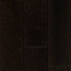Nero Black Oak Distressed Solid Hardwood