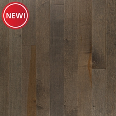 New! Heritage Gray Maple Smooth Solid Hardwood
