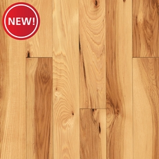 New! Fossil Hickory Smooth Solid Hardwood
