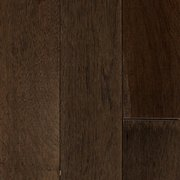 Graphite Hickory Wire Brushed Solid Hardwood