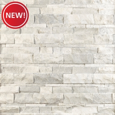 New! Bianco Mikasso Marble Panel Ledger