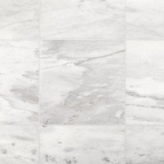Aurora White Honed Marble Tile