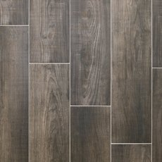 Laguna Anthracite Wood Plank Porcelain Tile