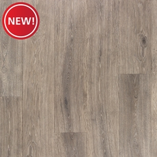 New! NuCore Satin Pewter Textured Plank with Cork Back