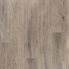 Satin Pewter Rigid Core Luxury Vinyl Plank - Cork Back