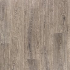 Satin Pewter Rigid Core Luxury Vinyl Plank - Cork Back