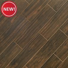 New! Burton Walnut Wood Plank Porcelain Tile