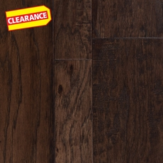 Clearance! Boardwalk Hickory Hand Scraped Engineered Hardwood