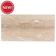 New! Crosscut Honed Travertine Tile