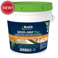 New! Bostik Wood-Grip Plus Wood Flooring Moisture Control and Sound Reduction Adhesive
