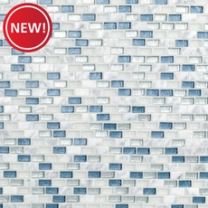 New! Genevieve Glass and Stone Mosaic