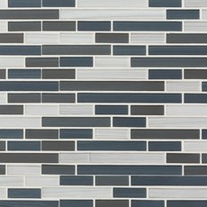Cool Contempo Glass Mosaic
