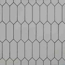 Gray Picket Ceramic Tile