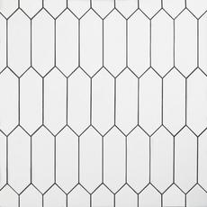 White Picket Ceramic Tile