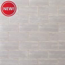 New! Maiolica Tender Gray Wall Tile