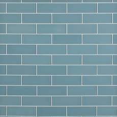 Spa Blue Glass Tile