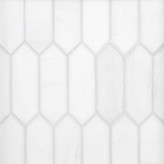 Dolomite Picket Polished Marble Mosaic