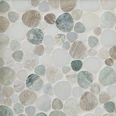 Paradise Pebblestone Marble Mosaic