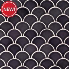 New! Atlantic Fan Polished Porcelain Mosaic