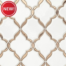 New! Victorian Oro Polished Porcelain Mosaic