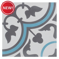 New! Equilibrio Blue II Tile