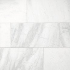 Provincial White Polished Marble Tile