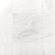 Provincial White Honed Marble Tile