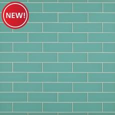 New! Honeydew Glass Tile