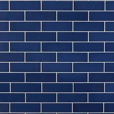 True Blue Glass Tile