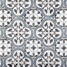 Equilibrio Blue Encaustic Cement Tile