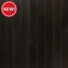 New! Midnight Mist Hickory Wire Brushed Solid Hardwood