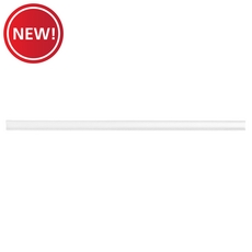 New! White Linear Smooth Decorative