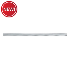 New! Silver Dimension Linear Smooth Decorative