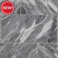 New! Vogue Gray Polished Mable Tile