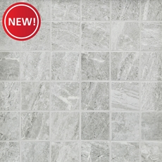 New! Nepal Gray Porcelain Mosaic