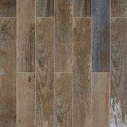 Sail Dark Wood Plank Porcelain Tile