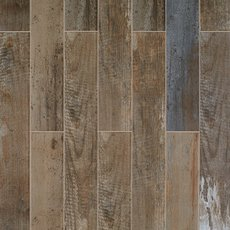 Sail Dark Wood Plank Porcelain Tile