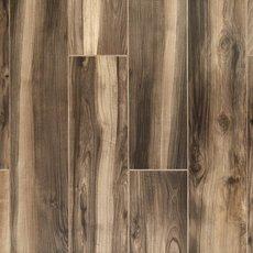 English Walnut Wood Plank Porcelain Tile
