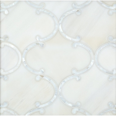 Aphrodite Mother of Pearl Waterjet Marble Mosaic