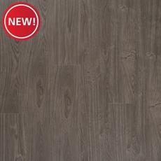 New! Steel Beach Oak Matte Luxury Vinyl Plank with Foam Back