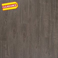 Clearance! Steel Beach Oak Rigid Core Luxury Vinyl Plank - Foam Back