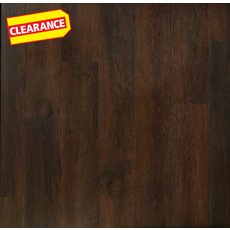 Clearance! Gibson Hickory Matte Luxury Vinyl Plank with Foam Back