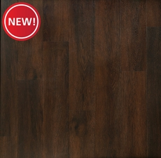 New! Gibson Hickory Matte Luxury Vinyl Plank with Foam Back