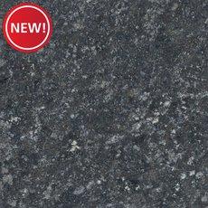 New! Sample - Custom Countertop Black Pearl Brushed Granite
