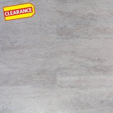 Clearance! Silver Travertine Luxury Vinyl Tile